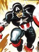 美国队长:白色漫画
